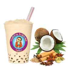 Coconut Chai Boba / Bubble Tea Powder by Buddha Bubbles Boba (1 Kilo)
