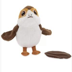 """Disney Star Wars Porg Shoulder Plush Magnet 5"""" Toy Pal Magnetic Collectors New"""