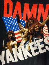 "Vintage 80'S 90'S Damn Yankees ""Yank This"" T Shirt Large Metal Rock Hanes Nr"