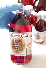Bioavailable COLLOIDAL GOLD  PHOENIX 40 80 120ppm 500/200ml nano ormus ormes red