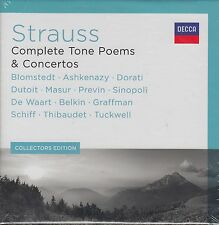 Strauss: Complete Tone Poems & Concertos - Blomstedt, Dorati, u.a. (13 CDs, OVP)