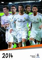 Official Real Madrid 2014 Calendar BRAND NEW SEALED