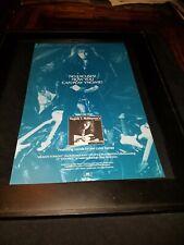 Yngwie Malmsteen Heaven Tonight Rare Original Radio Promo Poster Ad Framed!