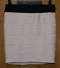 Womens Pale Blush Pink Maurices Pleated Mini Skirt Size Medium excellent
