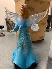 Enesco H8 Jim Shore Heartwood Creek Christmas Wonderland Snowflake Angel 8in