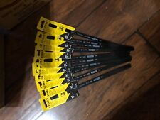 (20)Stanley Hacksaw Blades 24T X 12 Inch Point Carbon Steel Flexible 15-924A
