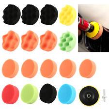 """18pcs 3 """"polonais polissage tampon pad adaptateur forage pour voiture polisseuse"""