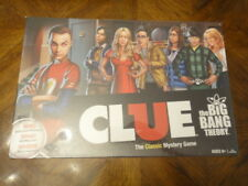 New Box Board Game Clue The Big Bang Theory Classic Mystery Game Ages 8+ 2-6 pla