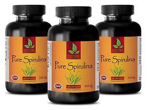 Immune support garlic - SPIRULINA 500MG 3B - spirulina capsules