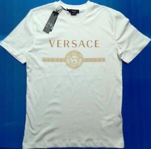 Versace Mens White T-shirt SIZE XXL