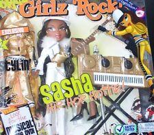 BRATZ *GIRLS REALLY ROCK * SASHA * HIP-HOP HOTTIES