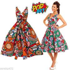 Cotton V-Neck Sleeveless Dresses for Women