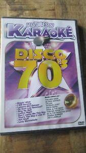 ♫ Dvd Karaoké-Succès spécial Disco années 70-Neuf sous cello -Zone2 ♫