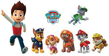 "PAW PATROL 3D WALL STICKER SET ART KIDS DECAL 12"" sticker"