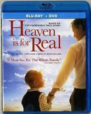 Heaven Is For Real, Blu-Ray & DVD LIKE NEW