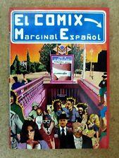 El Comix Marginal Español 1976.Producciones Editoriales