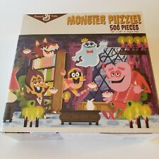 General Mills Monster Puzzle 500 piece 18x24 Cereal Character Theme Ages 10+ New