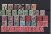 STRAITS SETTLEMENTS 1902 -  USED STAMPS DEALERS LOT   6810