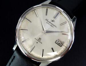 Working Seiko 30J Seikomatic Slimdate 1964 Vintage Automatic Mens Watch montre