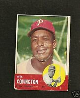 1963 Topps # 529 Wes Covington