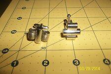 Vintage Speidel Cufflinks  Round Wire Deco Design
