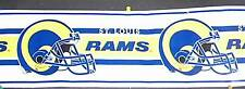 "NFL Wall Border, ""St. Louis Rams"" (1 Roll) NEW"