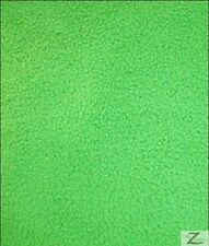 SOLID POLAR FLEECE FABRIC (ANTI-PILL) - Lime - SOLD BTY 60""