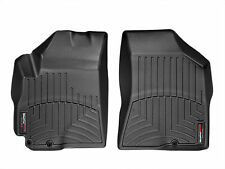 WeatherTech FloorLiner for Hyundai Santa Fe w/2 knobs 2010-2012 -1st Row -Black