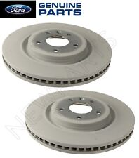 For Ford Explorer Taurus Lincoln MKT Pair Set of 2 Front Brake Rotors Genuine