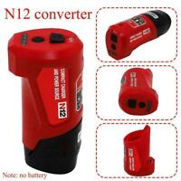 USB-Ladeadapter Handy-Stromversorgung für Milwaukee M12 B. 48-59-1201 A0Z2
