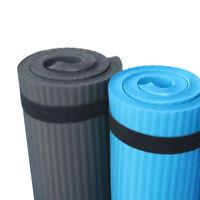 2X(Colchoneta para Entrenamiento de Pilates 60X25X1,5 Cm de Espesor Cojín d S9H4