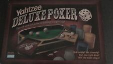 """Parker Brothers """"YAHTZEE DELUXE POKER"""" Dice Gambling Game"""