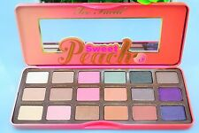 Too Faced Sweet Peach Eye Shadow Collection Palette 18 Colors Eyeshadow