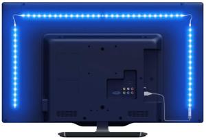 """LED Strip Lights for TV 6.56ft RGB Color Changing Backlights USB for 32-65"""""""