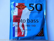 Rotosound RB50 Bass Guitar Strings - Nickel Roundwound - Long Scale Heavy Gauge