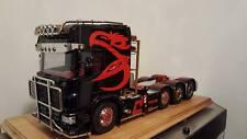 Scania Greif Aufkleber für Topline Dach.Weiß,Schwarz,Rot&Blau Tamiya Truck 1:14