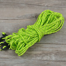 GREEN 16M Multifunctional Tent Rope Reflective Outdoor Camping Hiking Nylon