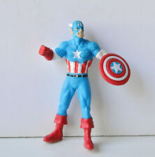 MINI FIGURINE MARVEL - CAPITAINE AMERICA (6x4cm)
