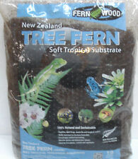 Fern Wood New Zealand Tree Fern Soft Tropical Substrate 10 Liter Bag