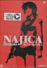 Najica Blitz Tactics Deluxe Edition DVD ITA con Cofanetto. Exa