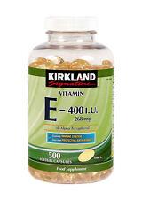 Vitamin E 400 IU by Kirkland Signature - 16 Month Supply