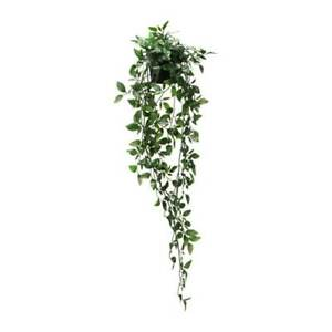 IKEA FEJKA Artificial potted plant leaf  hanging vine basket shelf decor PUP10