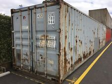 40ft Gen. Bgrade Shipping Container. Grey. Water Proof Lockable