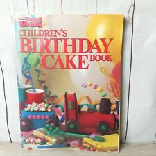 Womens Weekly Children's Birthday Cake Book Vintage Classic Collectible Original