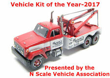 N Scale 70's GMC Holmes Wrecker (Long Hood) Truck Kit by Showcase Miniatures(92)
