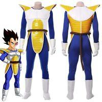 Dragonball Dragon Ball Z Vegeta Cosplay Costume Halloween Uniform Suit
