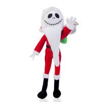 Nightmare Before Christmas Santa Jack Skellington Soft Plush Toy 12inch Xmas