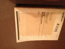 CAT CATERPILLAR 426B 426 BACKHOE PARTS BOOK CATALOG S/N 5YJ 6KL