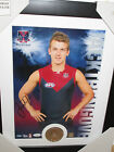Jack Trengove signed AFLPA Limited Edition Photo & Coin set- framed +COA (#2)