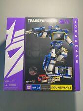 MP-02 Soundwave Destron Transformers Masterpiece Takara Box & Trays Only
